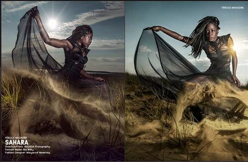 Work  by BlackKat Photography , Maryanne Meservey , Féroce Magazine, Ria Wilky