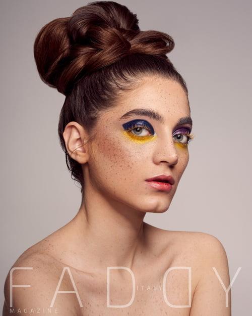 Work  by Ali Sahebi, Faddy Magazine, Ainaz Bayat, Fateme Moradi, Shabnam Ataei