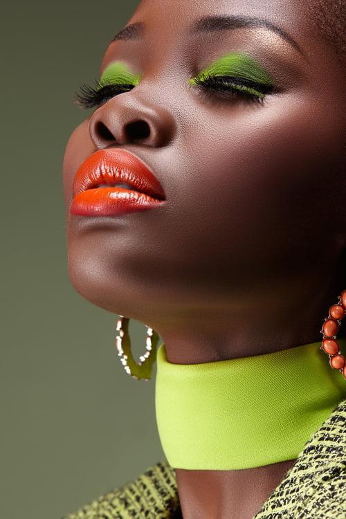 GREEN   by Desire Seko,  Desire Seko , makeupbyZodwa, KEABETSWE