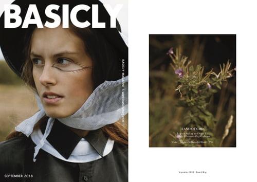 Work  by Egle Ellerman, Sophia Millward, Basicly Magazine