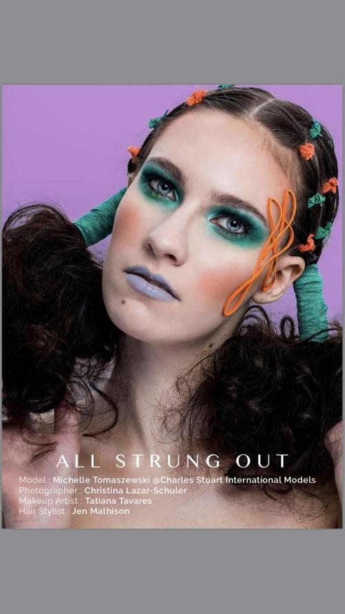 Work  by Michelle Tomaszewski, Christina Lazar-Schuler, Jen Mathison, Surreal Beauty Magazine, Tatiana Tavares