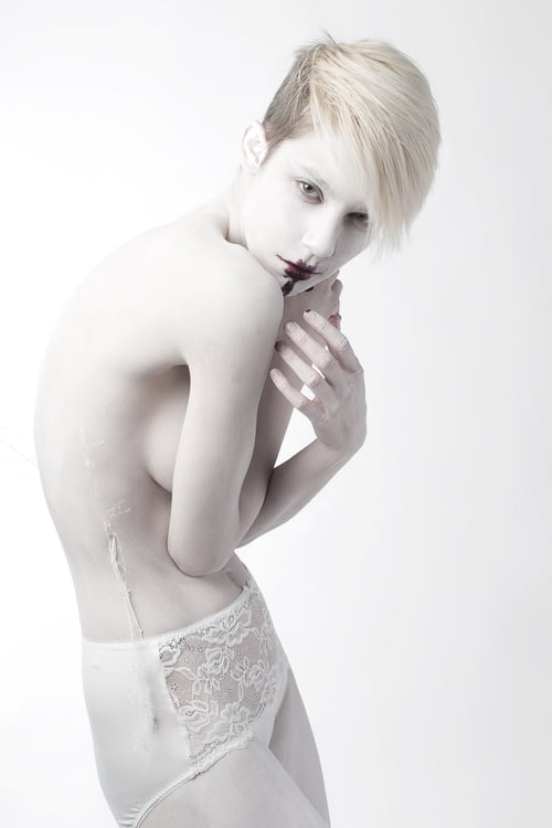 Bleached published in Elegant Magazine    by Ashley Luna, Marie Vaccarello, Gregory T. Hollar