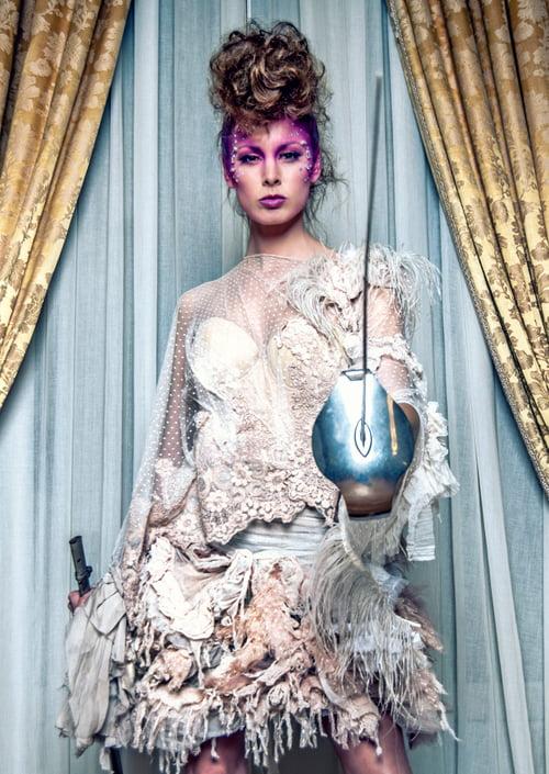 Work  by Iván RDC Photography, Lady Scissors, Apropos Make Up , Noemi Meilan, La Tua Pelle Costure