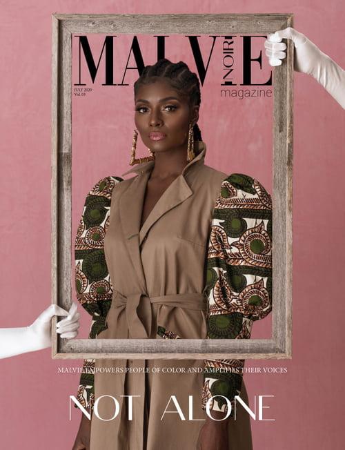 Work  by MALVIE Magazine, Oye Diran, Osei en Rose, Marius Ciobanu, Eclectique Collection, Stephanie Badu, Rachael Joy Williams , Citizins , Nana Osei