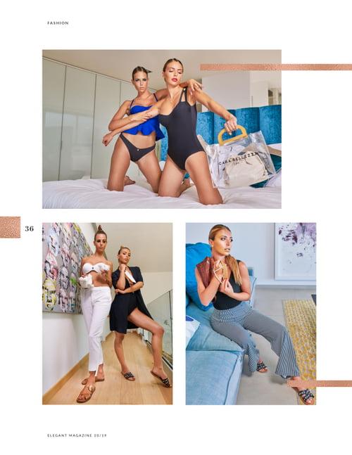Work  by Therin Cedric , ELEGANT Magazine, George Buczko, Eva Colas , Cyntia Colas, Teo Del-frate, Cara Bellezza
