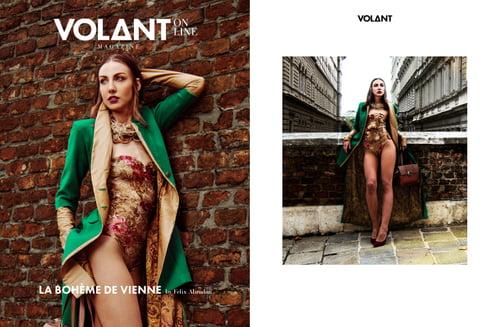 Work  by Gaya-ne, VOLANT Magazine, Amanda Gevorgyan