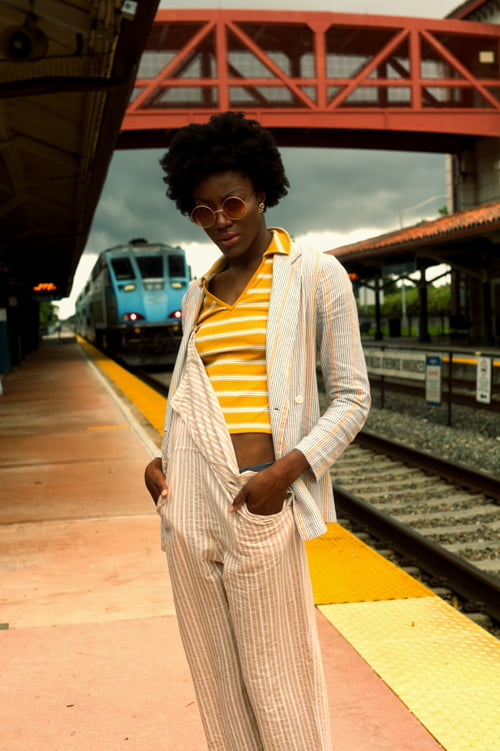 Lady & The Train Pt. 2   by David Smith, Analexis Greene