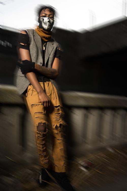 Work  by Isaac Alexander, Pharoah Brand Fashion, Megan Landry, Najee Rushing