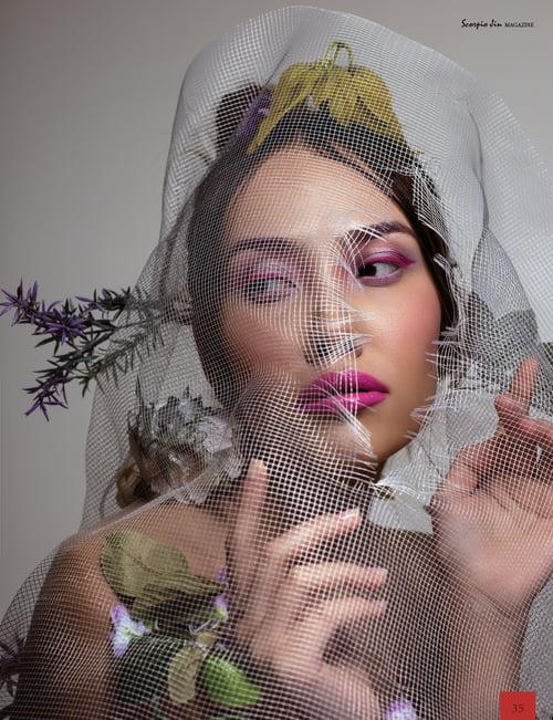 Work  by Artem Zatsepilin, Alexandra Kazanskaya, Anastasiya Lisitsina, Scorpio Jin Magazine, Irina Kopachenko