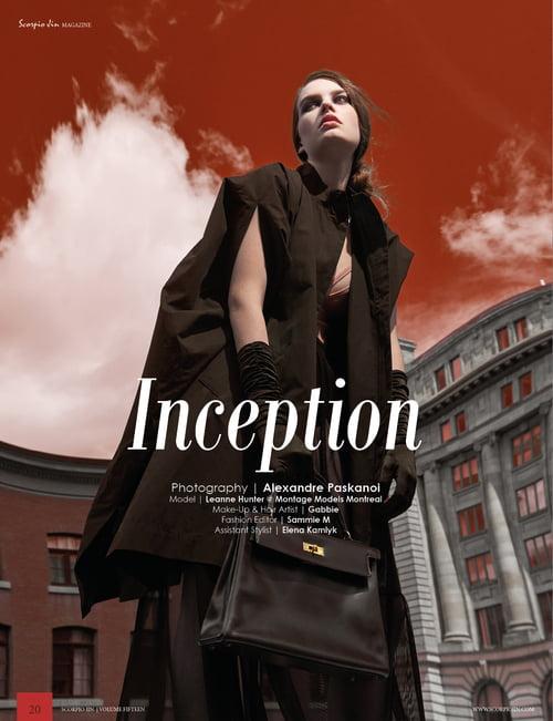 Work  by Keran Look Loy, Scorpio Jin Magazine, Alexandre Paskanoi, Sammie M, Elena Kamlyk, Gabbie Mcguire , Leanne Hunter