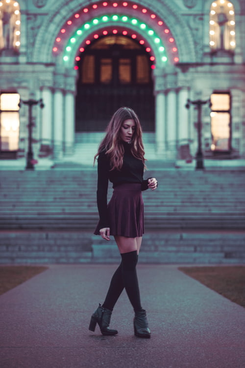 A twilight stroll through the historical side of downtown Victoria, BC.     by Tristen Williams, Claudia Milia, beauNU Magazine