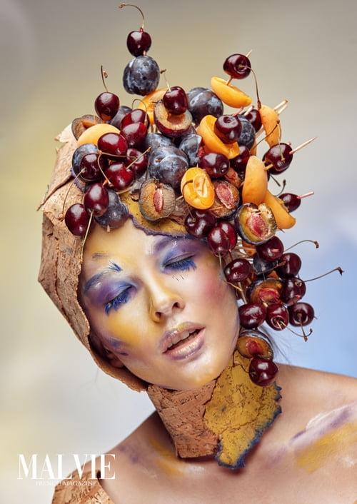 Work  by MALVIE Magazine, Marius Ciobanu, Anna Dekina, Alexandr Pogorelov, Mua Forum For Makeuprushgame, Tcurikova Tat'yana, Karina Yarkova