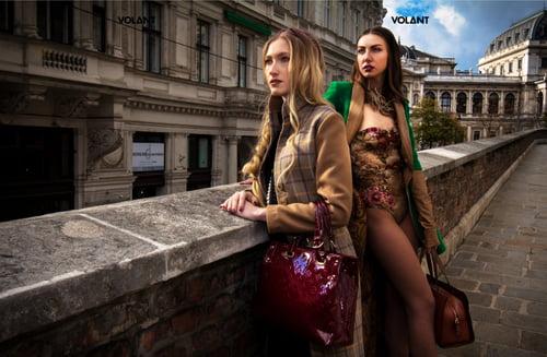 Work  by Felix Abrudan, Gaya-ne, VOLANT Magazine, Amanda Gevorgyan, Isabella Allram