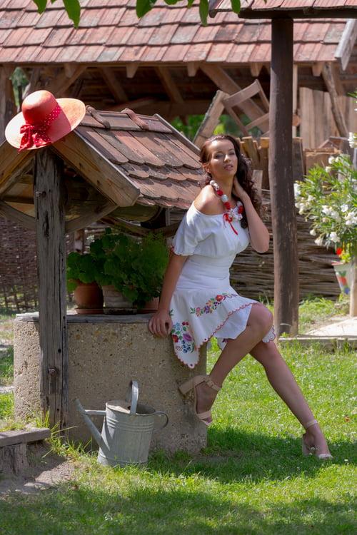 Work  by Réka Orosz, Eszter Hercsik, Zoltán Dévai, Kinga Balla Kurucz, Nora Deres, Ócsai Tájház Hungary