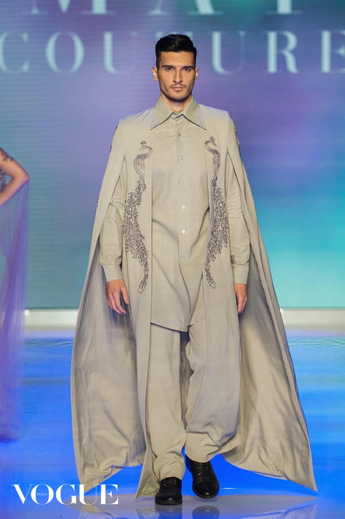 Toronto Women's Fashion Week in Vogue Italia   by Sands, Elgar, Che Rosales, Amato Couture By Furne One