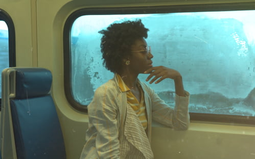 Lady & The Train Pt. 1   by David Smith, Analexis Greene