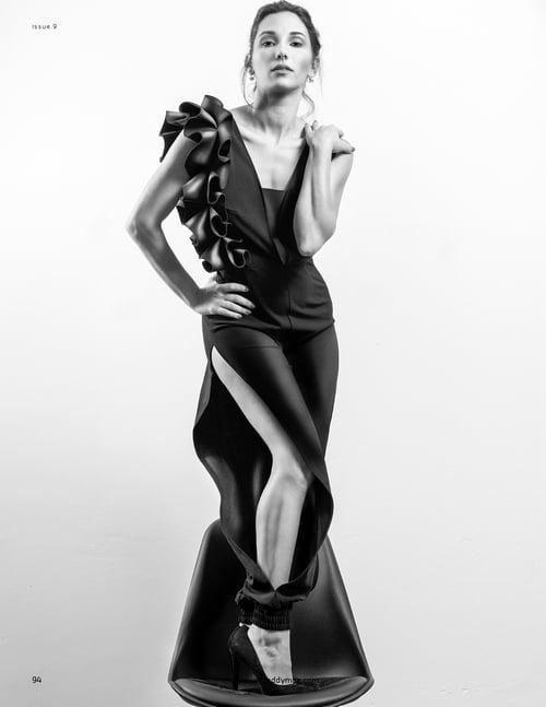 Work  by Anna Galavis, Roby Fabro, Faddy Magazine
