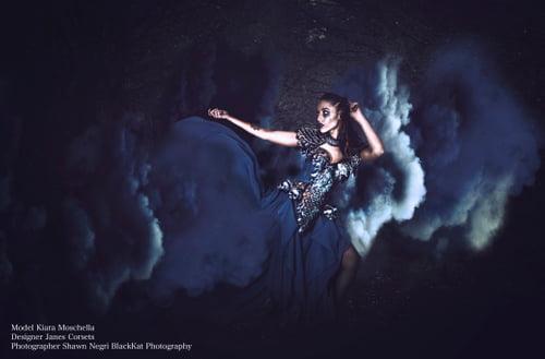 Work  by BlackKat Photography , Féroce Magazine, Kiara Moschella , Janes Corsets