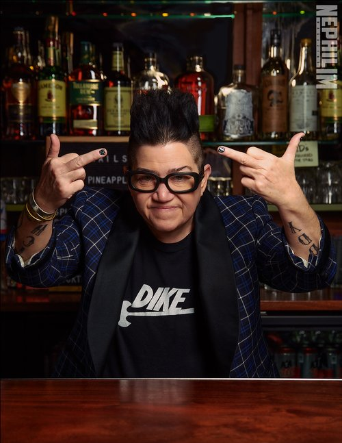 See the full feature with the exclusive interview and more photos at www.nephilimmag.com/post/185392945982/leadelaria.   by Susan Rockstraw, Andrew Foord, Lea DeLaria, J. Mueser