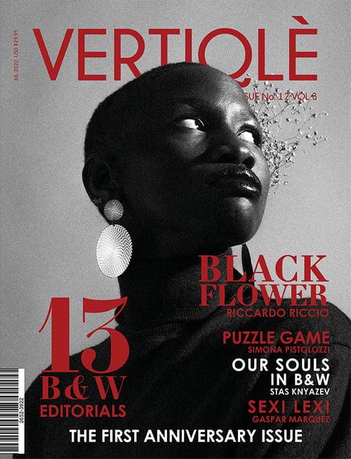 Work  by Vertiqlè Magazine, Riccardo Riccio, Justine Sirabella, Danielle Siobhan Cole, Feuza Diouf