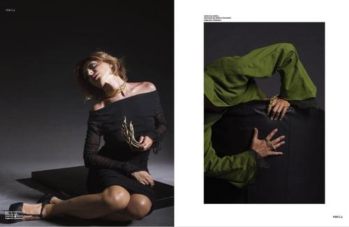 Work  by Sylvie Renault, Sabrina Facchetti, Anna Ushakova, Roberta Cappelli, Féroce Magazine, Maria Cristina Gionta