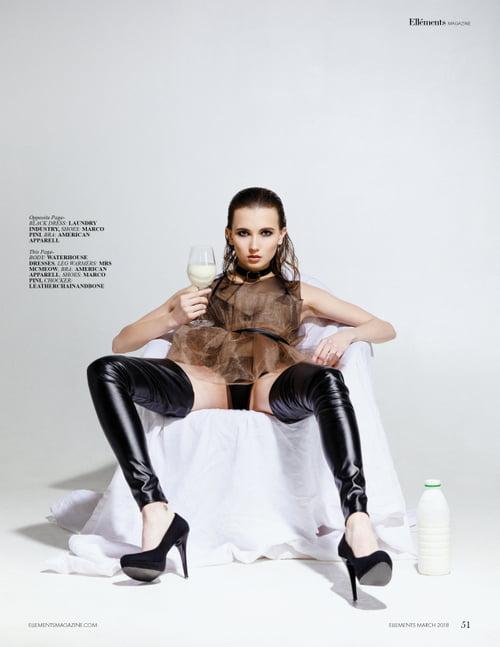 Work  by Vitaliy Soroka, Elléments Magazine, Alexandra Alekseeva, Khystyna Salii, Stanislava Samoilova, Mira Rismyatova