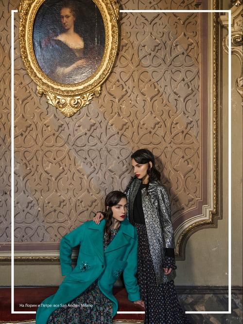 L'Officiel Azerbaijan - Winter in castle   by Virginia Di Mauro, Petra Semes, Lauren Pereira