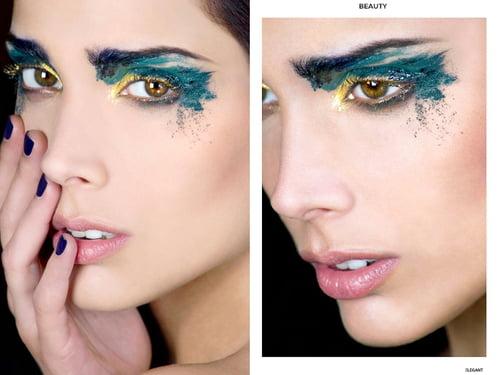 Work  by Timea Ruman Roka, ELEGANT Magazine, Francisco Valencia, Anna Fiore, Grazia Malafronte