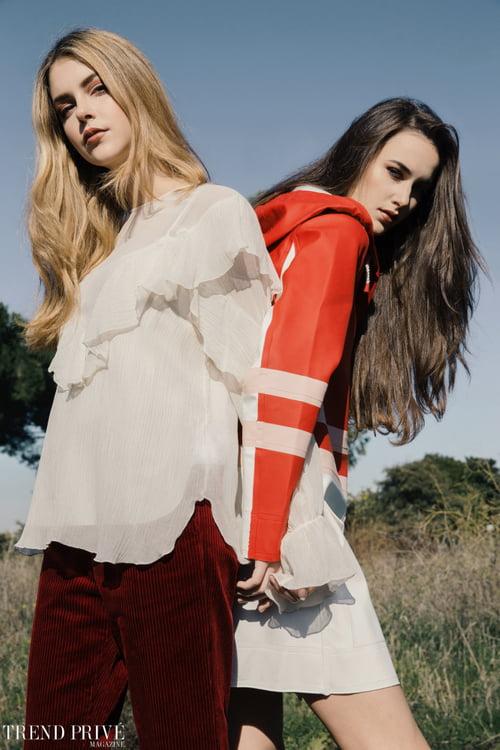"""Red""   by Trend Privé Magazine, Kevin Del Rosario, Francesca Basili,  Gabriella Piluso, Amor Del Rosario, Martina De Luca,  Isa, Lorenza"