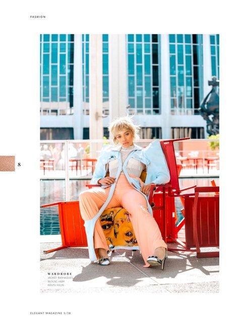 Elegant Magazine May 2018   by Combina, Kamari Love, David Thompson, Anthony Kinard, Jannique Heard, Monsieur Pariè