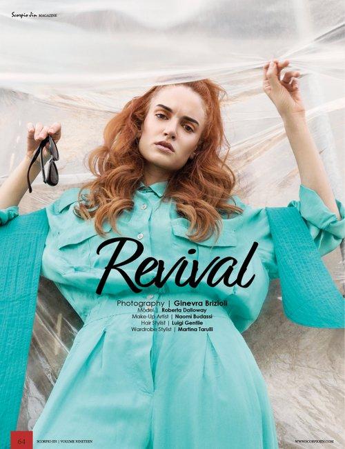 Work  by Scorpio Jin Magazine, Ginevra Brizioli , Martina Tarulli, Roberta Dalloway, Naomi Budassi, Luigi Gentile
