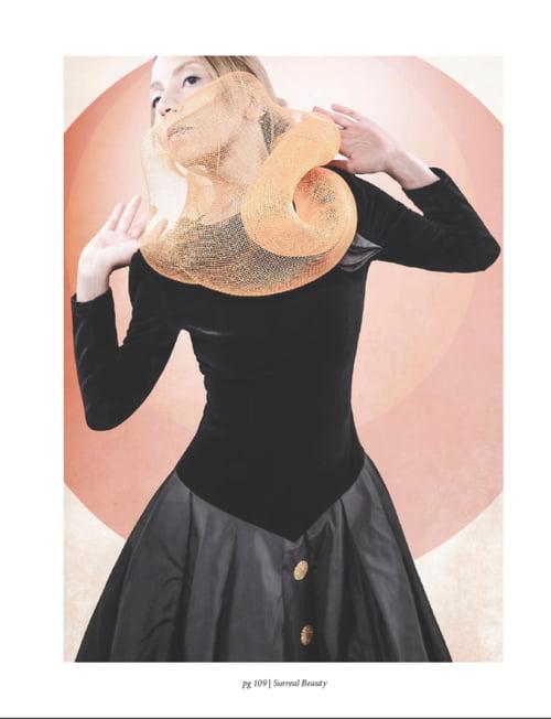 "Published on SURREAL BEAUTY ""Eurythmic"" - December 2017   by Karmilla Shelly, Surreal Beauty, Jasmine R., Olivia Gerry, Francesco Pandolfi"