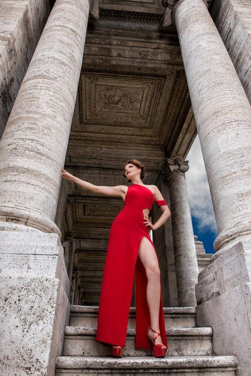 Work  by Luigi Scuderi, Maison Lombardi haute couture