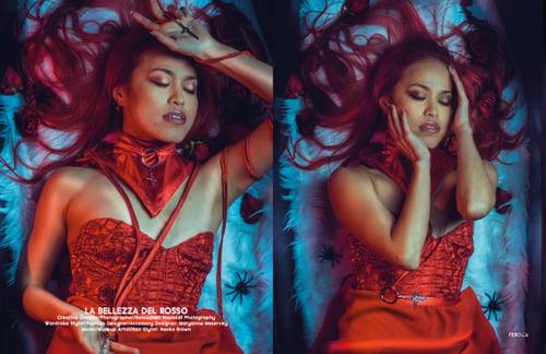 Work  by BlackKat Photography , Féroce Magazine, Maryanne Meservey , Naoko Brown