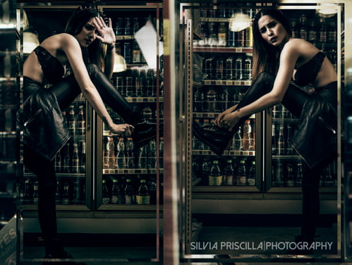 Work  by S I L V I A P R I S C I L L A, JessieJoe Monge Murphy