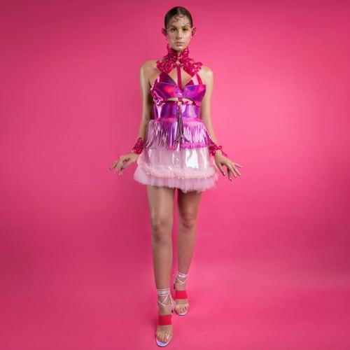 Work  by Tia Oguri, Cerys Wrigley-Moss, Ada Zanditon Couture
