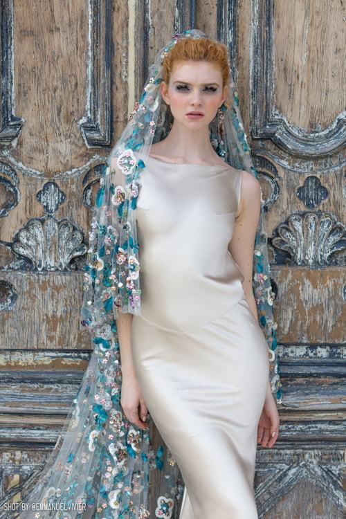 Work  by Belinda Chorley Beyond Bridal, Emmanuel Vivier, Abigail Tara lily, Lucy Mac, Lina Malta