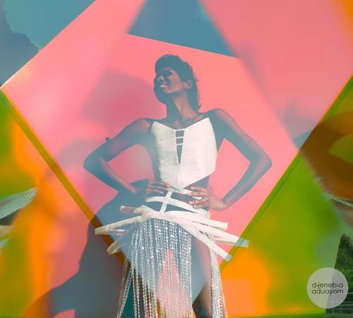 Work  by Tiffany Rae, Kimi Hayes, Jessie Gomez, Djeneba Aduayom, Zaria M.