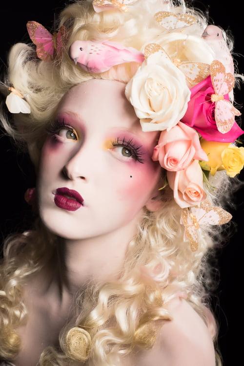 Work  by Ivonne Carlo Sellés Starbuck, Radikal Makeup, Angélica Fabiola