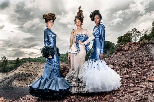 Flamencas de otro Planeta    by Iván RDC Photography, Tamara García Make Up, Mariadegracia, Soledad Bay, Inma Jagne , Vanessa Ruiz Oropesaa, Cristina Garcia