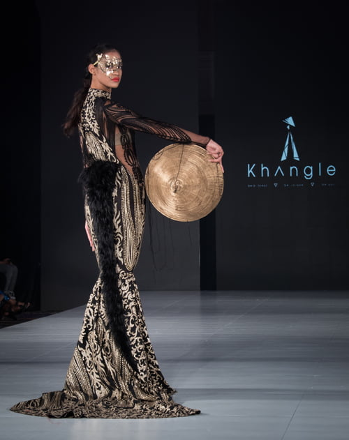 Work  by Ron Foster, Khangle, The Society Fashion Week