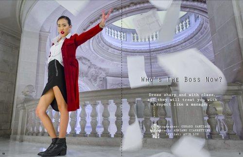 Tearsheet Whos The Boss Now?   by Gerard Santiago, Avie Liu, Adriano Ciarrettino