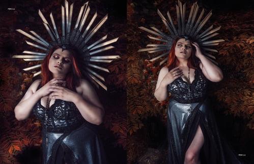 Work  by BlackKat Photography , Maryanne Meservey , Féroce Magazine, Helen Rupert