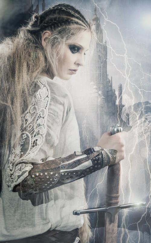Work  by Iván RDC Photography, Apropos Make Up , Lady Scissors, Rebeca Amatriain