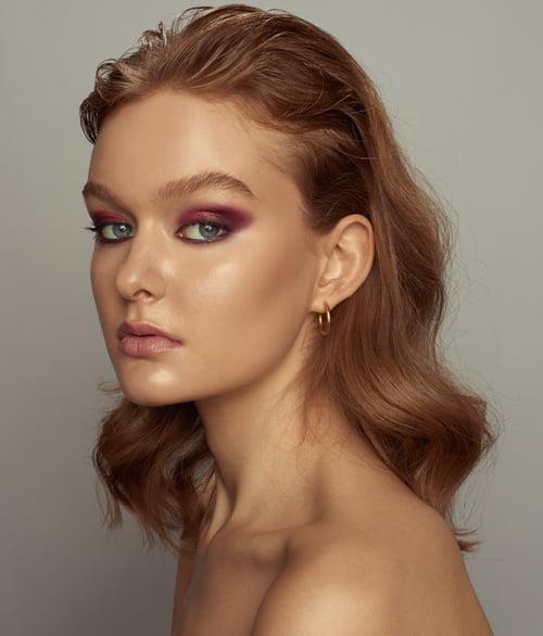 Mua / Mua x Angelina M Hair / Anna Giannini Model / Alexis x Spot6 Management   by Dave Hynes