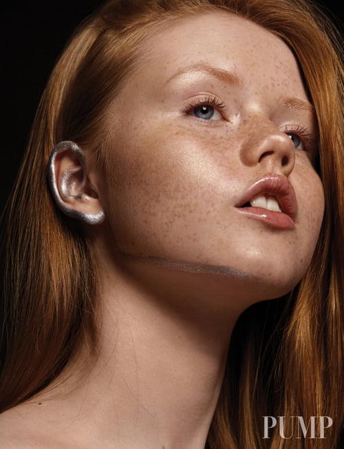 Featured in PUMP Magazine:  Photographer + Retoucher: Karolina Harz Model: Matylda @REVS Models Makeup Artist: Simona Petrucci   by PUMP Magazine, Karolina Harz, Amanda-Noel Fischer, Matylda, Simona Petrucci