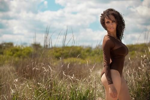 Work  by Nivea Leavell, Mirame Swim