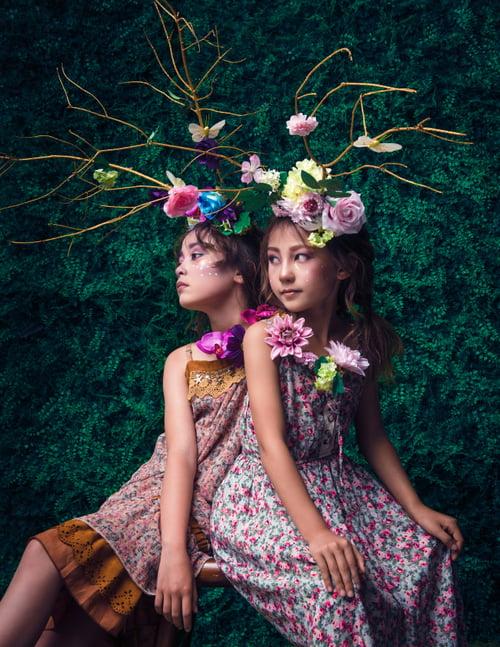 Work  by Wendy Jia, Dora Li