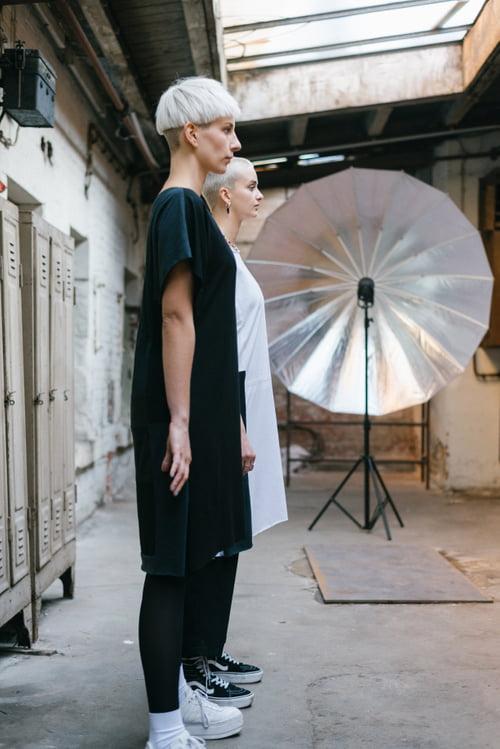 / AKTUAL /  New Editorial for @iamartig  Photograph : @larab.photoart Director & Videograph : @martin_goelz Photoassistent : @jpfromearth @ggabsen Make-Up Artist : @deborahhoerz Hairstylist : @yetkinsinekli  Stylist : @90melnel Designer/ Outfit: @iamartig Models : FEE B. / JULANDA K.   by Yetkin Sinekli, Deborah Hoerz, Laura Baumberger , Martingölz, Deborah Hoerz, Melisa Nehmet, Iamartig