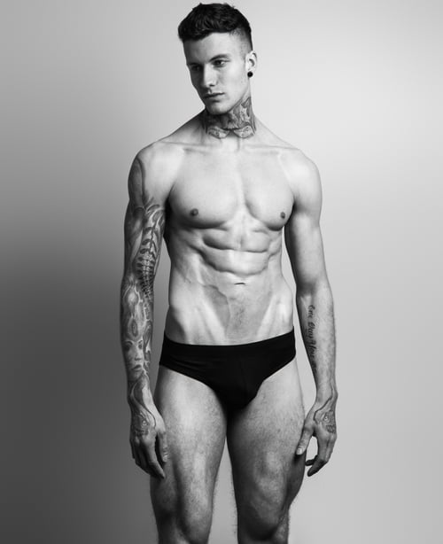 Work  by Chuck Thomas, Wilhelmina Models